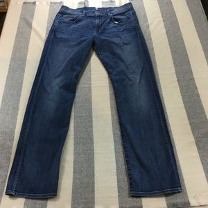 7 For all Mankind Carsen Men's Jeans 36 Straight